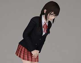 3D model Aoi various outfit pose 03