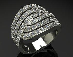 women ring rotate 3D printable model