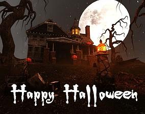 Halloween 3D model spooky