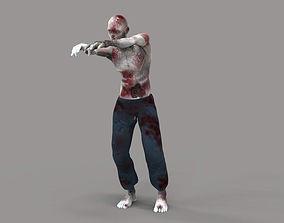 3D asset Zombie 2
