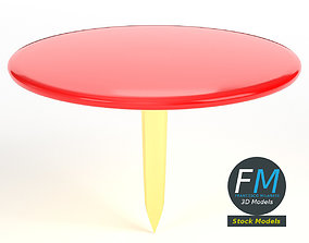 3D model Round push pin