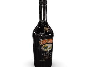 Baileys 70cl Bottle 3D model