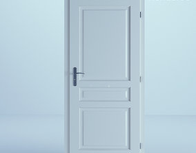 3D White Door 20