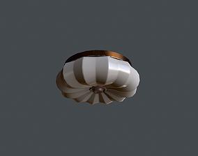 3D model Soviet Ceiling Light V2