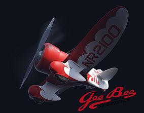 3D GeeBee R Airplane