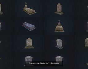 Gravestone Collection 3D