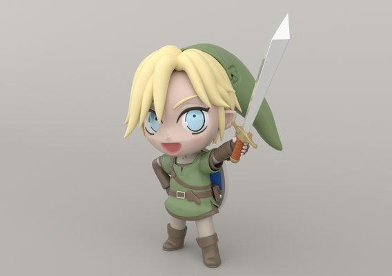 Chibi Link - Legend of Zelda