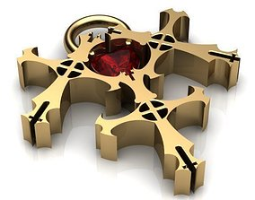 The Triple Cross 3D print model