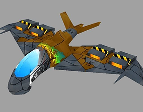 3D asset Eagle Jets