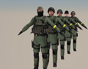 3D Collection FBI cs go