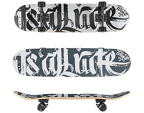 Skateboard Termit 518 3D model