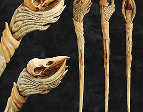 Raven Skull Wand - Harry Potter Spirit 3D print model