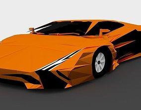 3D asset Supercar Venomsia Concept