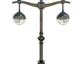 3D Old lamppost