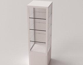 Glass Display Cabinet V2 3D