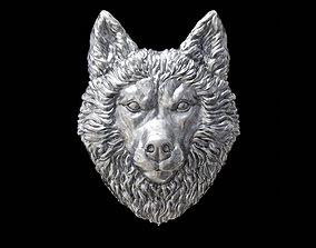 3D printable model Head husky
