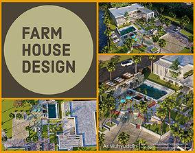Luxury Farm house design visualization 3D