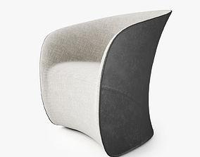 Zanotta Calla Armchair 3D model