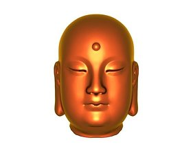Buddha head12 3D print model