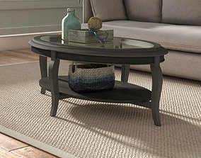 Wayfair Rannie Coffee Table with Storage 3D