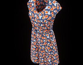 3D asset realtime Flower Dress