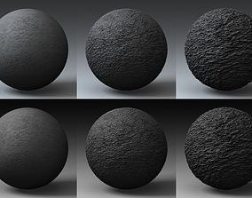 3D model Displacement Landscape Shader 078
