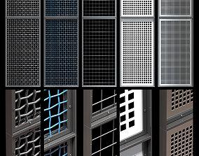 Decorative metal lattices - Quad 3D model