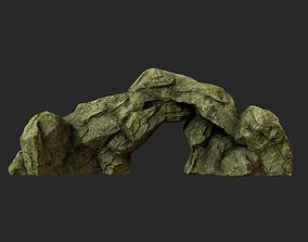 3D model game-ready Desert Rock desert