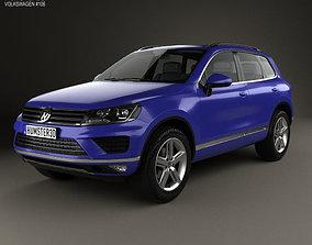 7p5 3D Volkswagen Touareg 2015