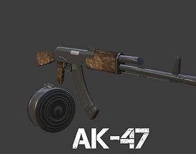 AK-47 3D model ak-47
