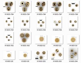 Balls Beeds Para 3dm stl print model bulk collection