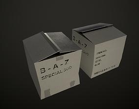 Card box 3D model