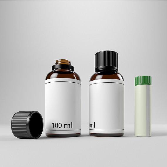 Bottles medical