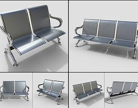 3D Waiting Room Seats