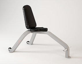 FreeMotion EPIC Utility Bench 204 3D model