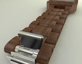 3D wood Watch Methis