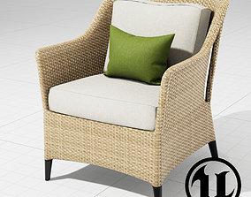 3D model Dedon Summerland Chair