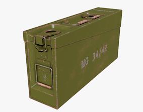 AMMO BOX GERMAN WW2 GREEN 3D