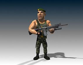 3D model Captain James