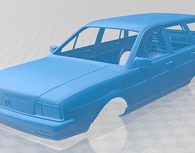 Volkswagen Passat Variant 1980 Printable Body Car