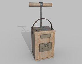 TNT Detonator 3D model