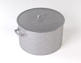 Aluminum pan 3D model