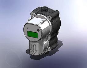 3D Water Meter Counter Stellum Model