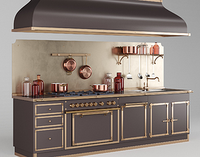 ARTIMINO PALACE By Officine Gullo kitchen set 3d