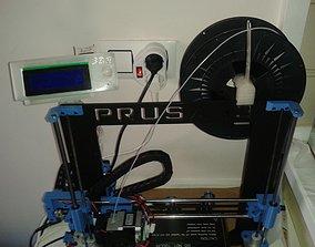 Prusa i3 LCD Panel 3D printable model