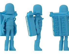 3D printable model Astroneer game character