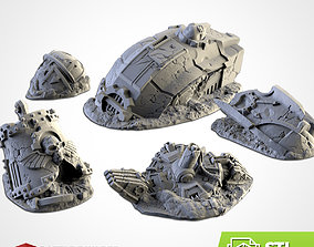 3D print model DESTROYED TITAN