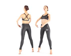 Ballet dancer 30 3D model