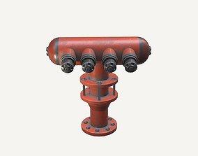 Industrial Water Hydrant 3D model