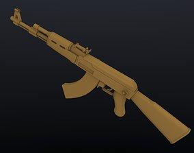 Ak 47 3D Model 3D model